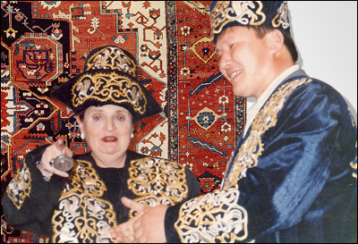 Madeleine Albright in Kazakhstan